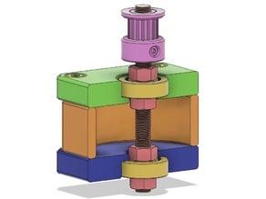 Plastic stepper motor Nema-17