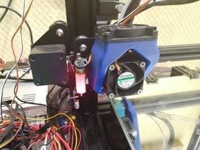 Ender 3 filament cooling for 50x50 Fan.obj