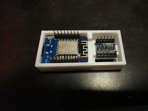 Case for Wemos d1 Mini + Logic Level Converter