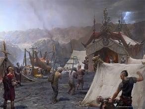 Fallout RPG - Caesar Legion - Legionaires with Spears