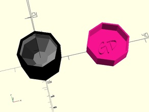 Parametric Spherical Box with Lid