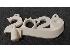 2020 Christmas Ornament - base only