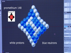 Promethium riddle geometry