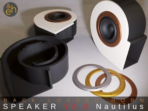 Back Horn Speaker V3.0 Nautilus - Bluetooth, Active, Passive