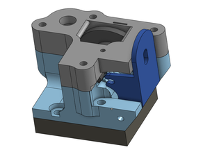 Flex3Drive mount for E3D toolchanger + Custom BMG extruder