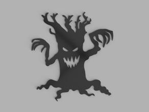 Spooky Tree Wall Art