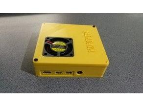 Raspberry Pi 4 Case & Buck Converter - 40mm fan