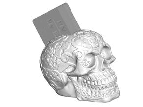 Celtic Skull Business Card Holder