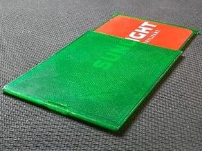 Customizable Wearable Card Protector