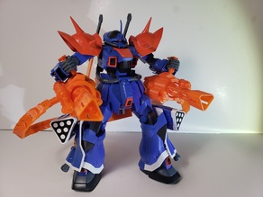 RE 1/100 Gundam Efreet Custom Motorized Miniguns