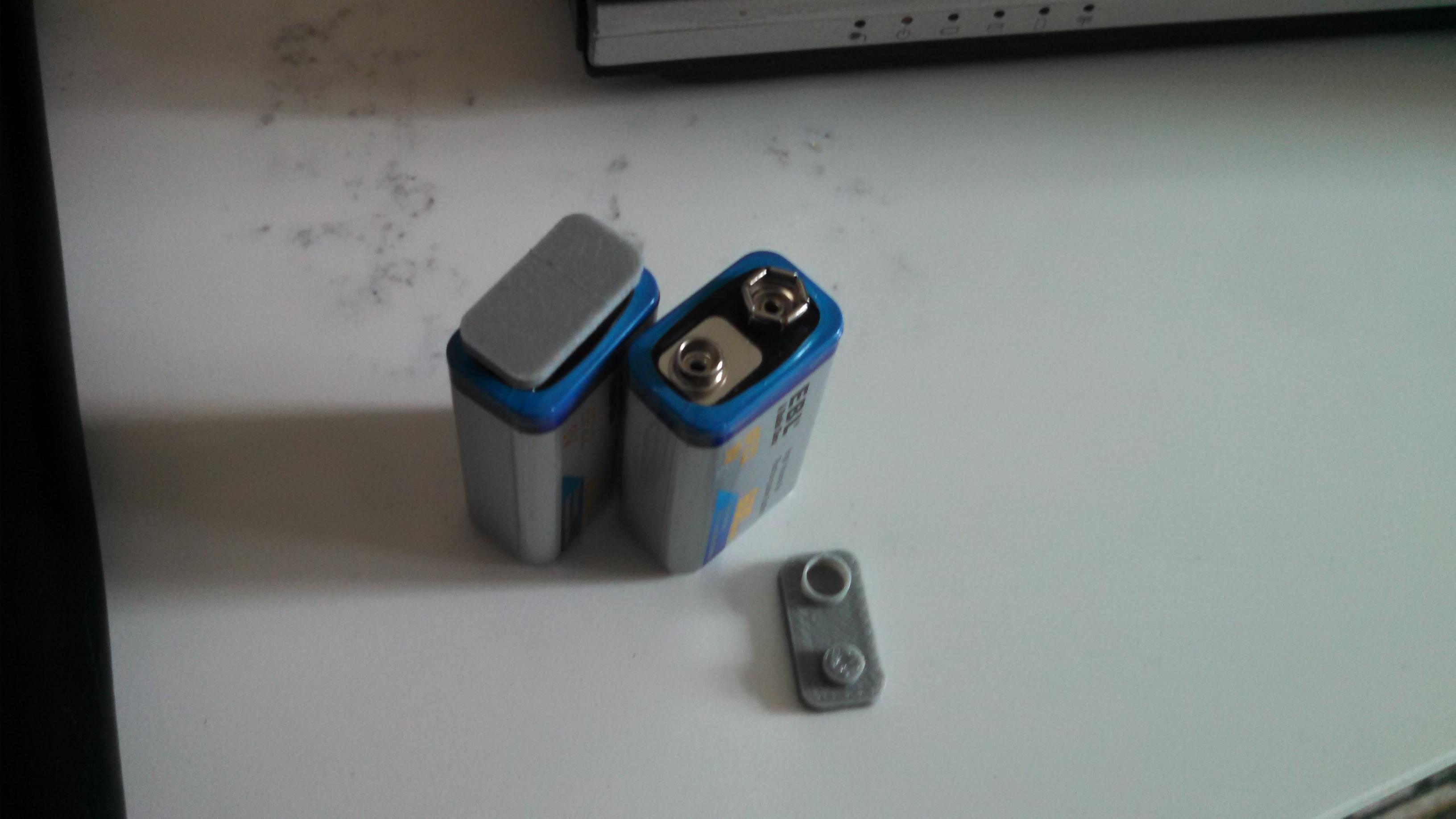 9 Volt Battery Cap Made by jrem uploaded Apr 12 2016 View Original