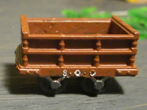 Dinorwig Quarry Coal Wagon (for Resin Printers)