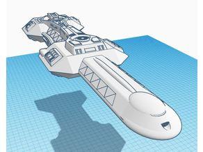 Cardassian Dreadnought Attack Ship