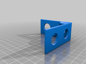 Bracket pieces for toy construction set