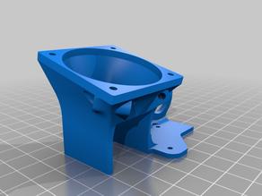 Minimalistic Ender 3 fan mount - fan_duct_5015