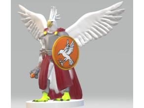 kocratuura Cleric (cockatoo aarakocra)