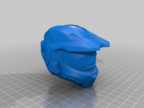 Master Chief Mk VI Helmet (Halo Mark 6) Solid