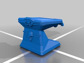Imperium of Man Cassette Futurist Scifi Terminal (Version 1)