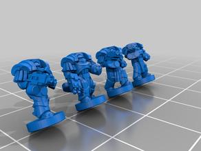 Galactic Crusaders - Heavy Siege Armour - 6-8mm