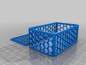 Hexagon-Box mit Deckel