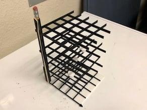 4x4x4 3D Tic Tac Toe / Noughts and Crosses