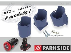 battery adapter 12V PARKSIDE or EINHELL  3 models