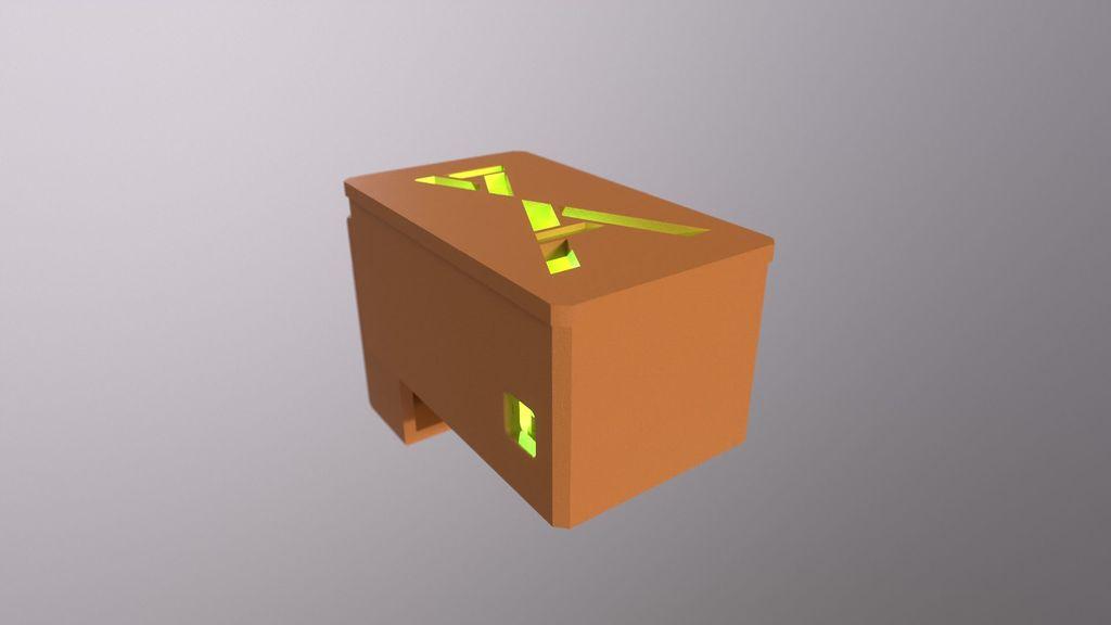 Ender 3 V2 30Amp Relay Enclosure