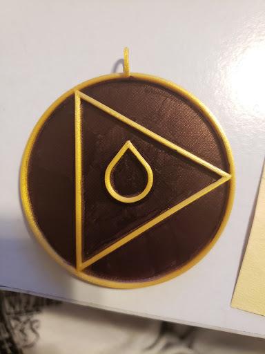 DRAKULAS Necklace Medalion