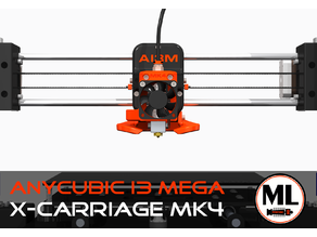 Anycubic i3 Mega X-Carriage [MK4]