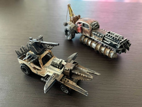 Gaslands X Crossout Weapons and Armour