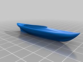 Mini Kayak Keychain