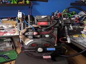 Proton pack - movie accurate prop form ghostbusters
