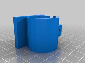 flashlight mount for sliding legolini - simple glue version