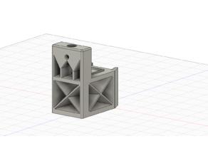 Ender 5 Desk Lamp Mount - Fits 2020 x 2 rail. (Double rail)