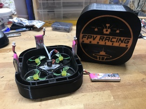 Tiny Whoop 75mm case for GNB 450mah 1S batteries