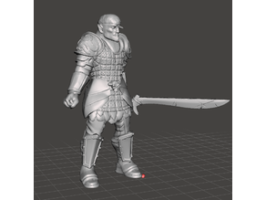Jaundiced Jape [Male Half-Orc Pirate]