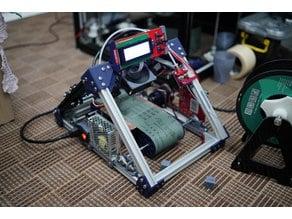 Sanding belt 3d printer