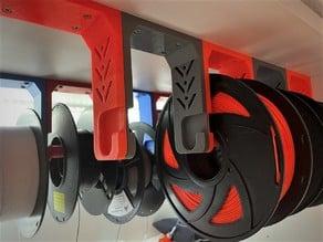 Soporte bobina platsa (techo y suelo) - Filament spool holder (2models)