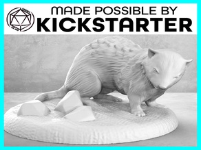 Ferret - Action Pose - Tabletop Miniature