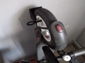 """Wall support for xiaomi scooter (10"""" version)"""