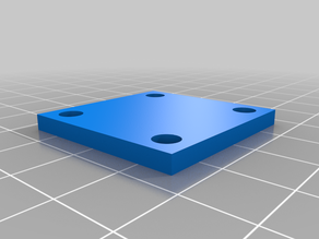 Operator panel for 3D printer with pan and tilt