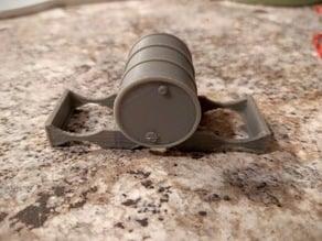 Oil Drum Pallet - Solid Uprights
