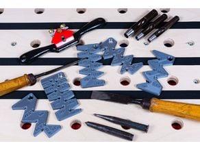 Bevel Angle Gauges for Sharpening