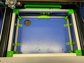 K40 Laser Tisch motorgetrieben / K40 motorized lasertable