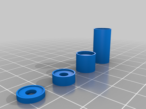 3D Printer Bed Levelling Spring Shims / Spacers