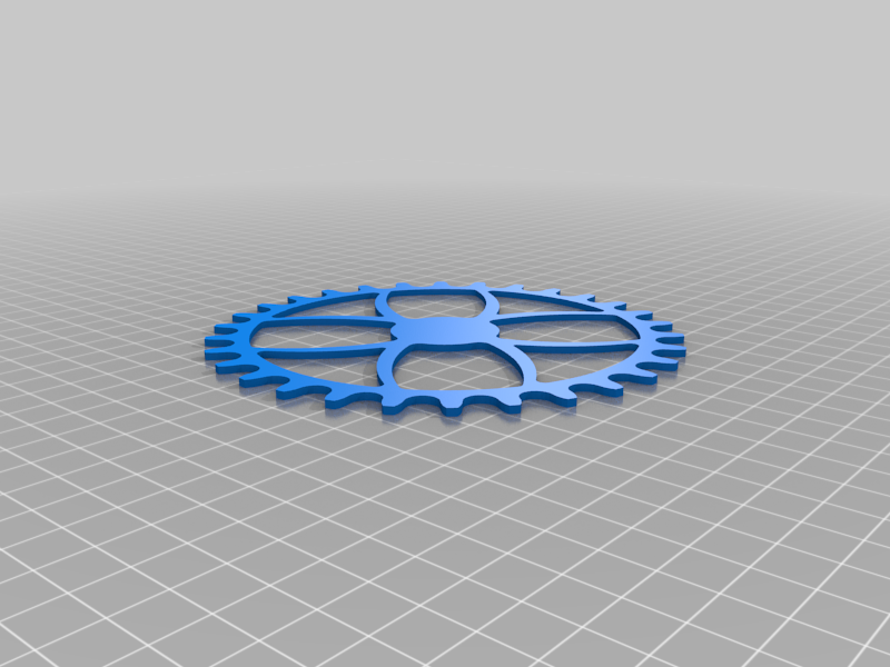 Bicycle sprocket and spider