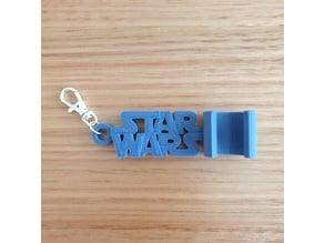 Star Wars keychain phone stand