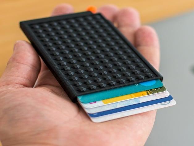 Slim Credit Card Wallet by aljaztitoric - Thingiverse