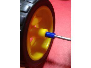 arduino car wheel coupling