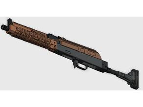 AK105  RAILED DUST COVER